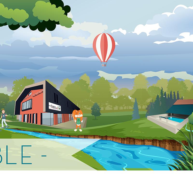 Illustration pour la Communauté de Communes Gâtine Choisilles – Pays de Racan