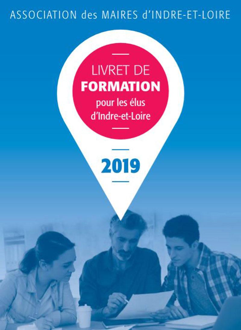 Créations graphiques pour l'association des maires d'Indre et Loire