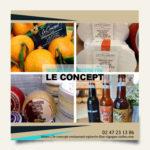 Campagne publicitaire pour un restaurant - Le Concept
