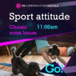 Création d'un campagne publicitaire pour mettre le sport à l'honneur.